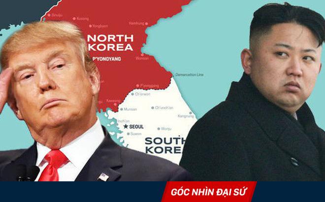 """Giải mã màn bỡn cợt nhau làm thế giới """"điên đầu"""" của Mỹ-Triều bằng cấm vận và ngoại giao"""