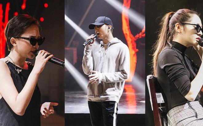 """NÓNG trước """"giờ G"""": Tóc Tiên, Soobin Hoàng Sơn, Bảo Anh gấp rút tập luyện cho Gala WeChoice Awards 2017"""