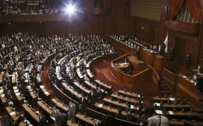 Quốc hội Nhật Bản diễn tập sơ tán tránh tên lửa Triều Tiên