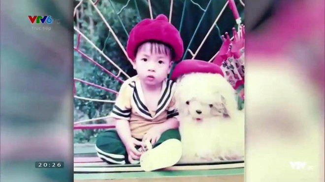 Hình ảnh hồi bé của cầu thủ U23 khiến HLV Park Hang-seo đau đầu trên sân khấu giao lưu - Ảnh 8.