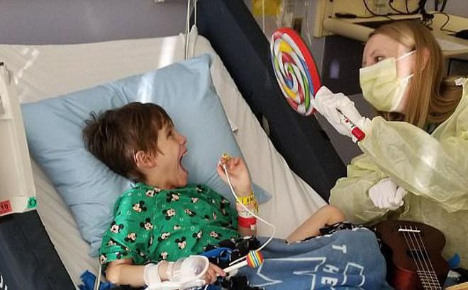 Biến chứng nhiễm trùng não do virus cúm mùa - một cậu bé 8 tuổi bị di chứng nghiêm trọng