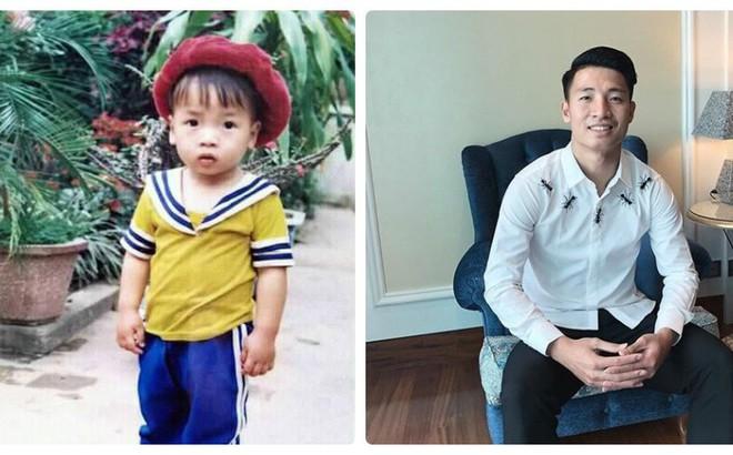 """Hình ảnh hồi bé của cầu thủ U23 khiến HLV Park Hang-seo """"đau đầu"""" trên sân khấu giao lưu"""
