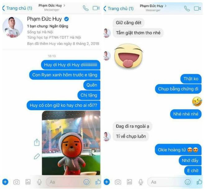 Fan nữ nhắn hỏi tung tích quà tặng, câu trả lời của Đức Huy U23 khiến ai cũng xuýt xoa - Ảnh 2.