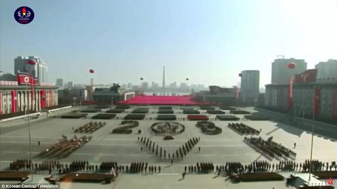 Vì sao lễ diễu binh năm nay của Triều Tiên quy mô nhỏ và 'thầm lặng' hơn? 1