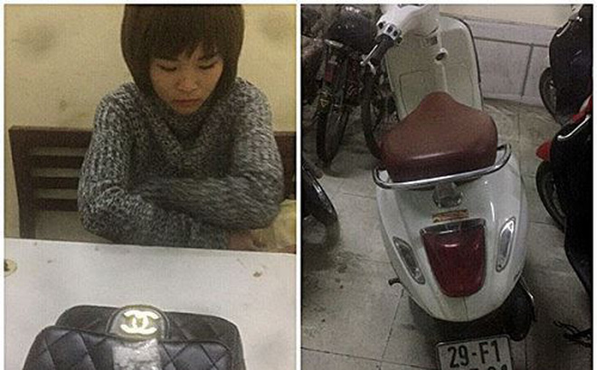 """Hà Nội: Nữ quái """"xách"""" ma túy bị 141 bắt giữ"""