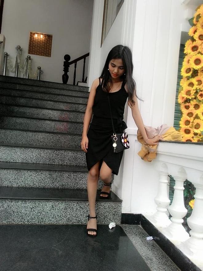 Để tóc dài và nữ tính, nhan sắc em gái hoa hậu HHen Niê gây chú ý - Ảnh 8.