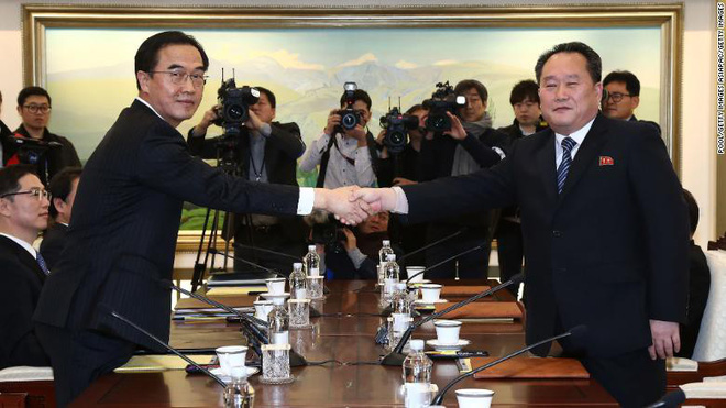 Hàn-Triều đối thoại: Lời đầu tiên hai bên nói khi đối mặt sau 2 năm là gì? - Ảnh 1.