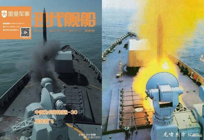 Bệ phóng thẳng đứng độc nhất vô nhị trên khu trục hạm Type 052D TQ vượt trội Nga - Mỹ?  - Ảnh 1.