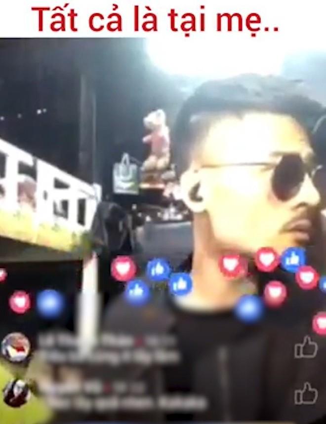Đang livestream, Hoa Vinh bị mẹ vào bóc: Mày hát là mày đang đánh lừa khán giả đấy! - Ảnh 2.