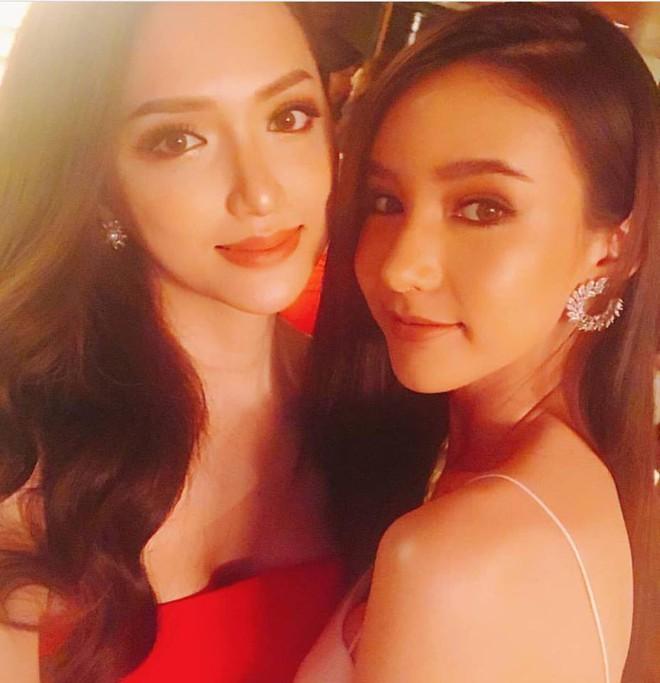 Chân dung nóng bỏng của chị em gái thân thiết với Hương Giang tại Hoa hậu chuyển giới - Ảnh 2.