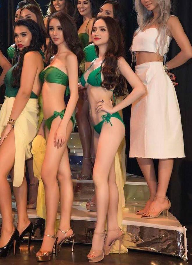 Chân dung nóng bỏng của chị em gái thân thiết với Hương Giang tại Hoa hậu chuyển giới - Ảnh 3.