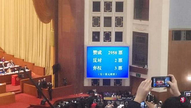 Gần 100% ĐBQH Trung Quốc nhất trí chính thức xóa giới hạn nhiệm kỳ Chủ tịch nước - Ảnh 2.