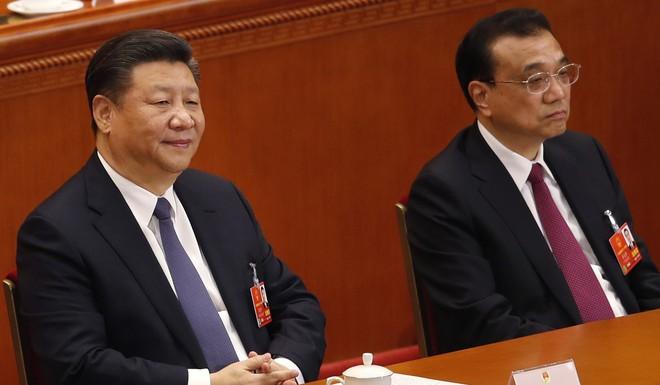 Ông Tập cười khi nghe thông báo kết quả sửa hiến pháp bỏ giới hạn nhiệm kỳ Chủ tịch TQ - Ảnh 1.