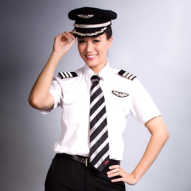 Gia thế khủng của Hoa hậu bỏ showbiz làm cơ trưởng khiến MC Kỳ Duyên kính nể  - Ảnh 7.