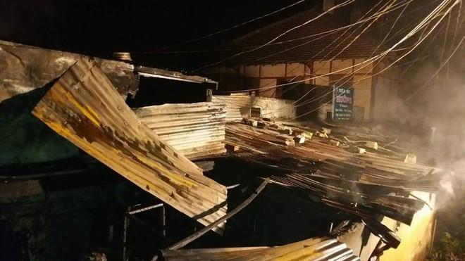 Vụ cháy ở Đà Lạt: Căn biệt thự tan hoang sau vụ cháy.