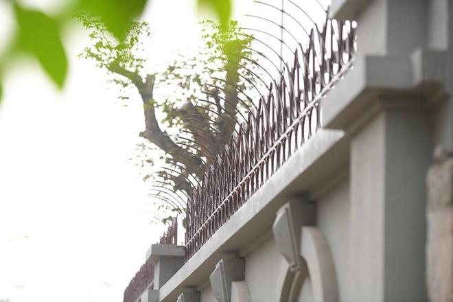 Hàng rào căn biệt thự của Cục trưởng Nguyễn Thanh Hóa.