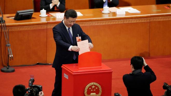 Biểu quyết trước Quốc hội: Nhiều khu vực bảo mật được thiết kế cho đại biểu Trung Quốc - Ảnh 1.