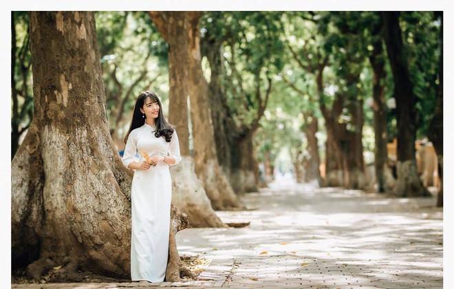 Một bức ảnh áo dài và lời giới thiệu khác biệt, cô gái nhận nhiều cảm tình từ dân mạng - Ảnh 7.