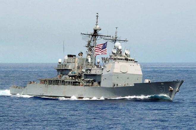 Chuyên gia Nga: Tuần dương hạm Mỹ thăm Việt Nam mạnh nhất thế giới - Ảnh 1.