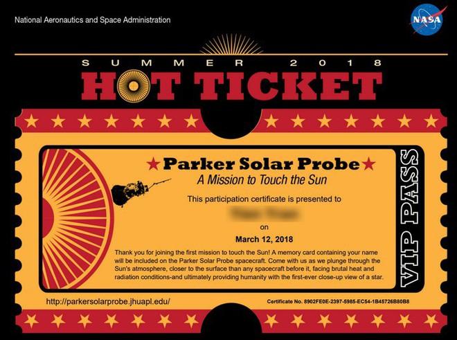 Gửi tên tới NASA và trở thành một phần của chuyến du hành lịch sử tới Mặt trời - Ảnh 4.