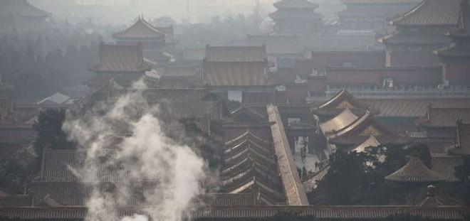 Cứ mùa đông là Bắc Kinh chìm trong sương mù vào khói bụi