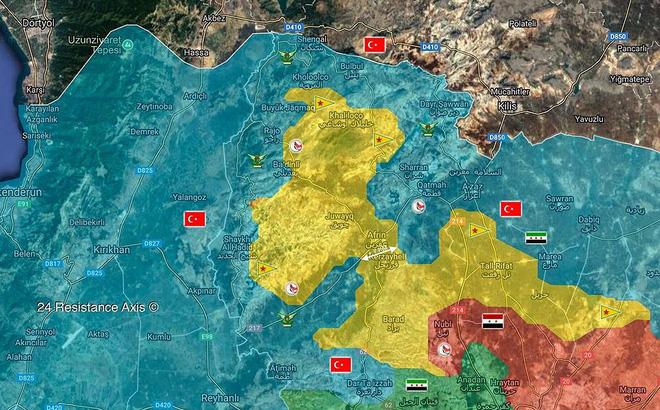 Quân Thổ đoạt hàng loạt cứ địa một ngày, người Kurd bên bờ bại vong