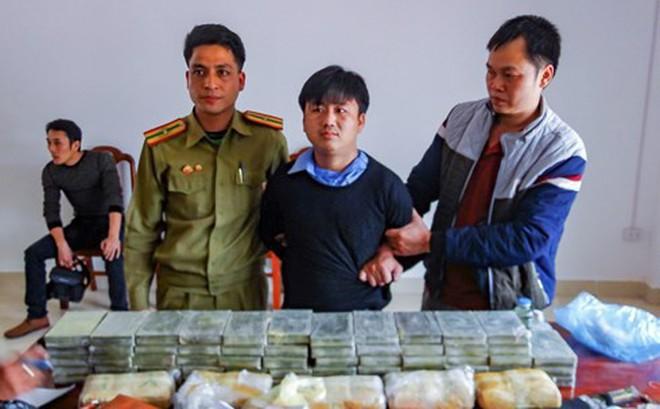 Phá chuyên án 028LV thu 60 bánh heroin, 40.000 viên ma túy tổng hợp