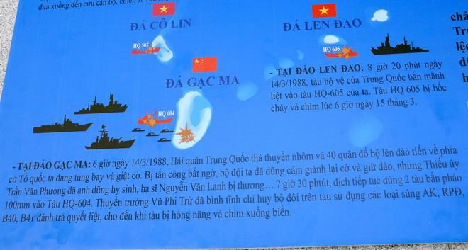 Dâng hương tưởng niệm 64 chiến sĩ anh dũng hy sinh tại Gạc Ma - Ảnh 8.