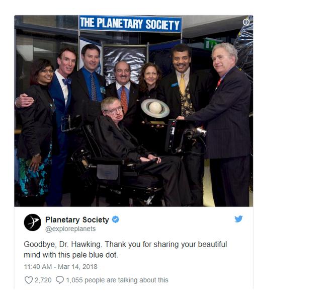 Mong giáo sư Stephen Hawking tiếp tục bay như siêu nhân... - Ảnh 2.