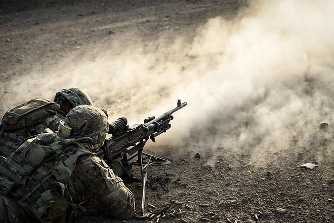 Ảnh: Lính Mỹ huấn luyện sử dụng đa dạng nhiều loại súng - ảnh 8