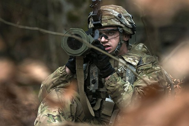 Ảnh: Lính Mỹ huấn luyện sử dụng đa dạng nhiều loại súng - ảnh 10