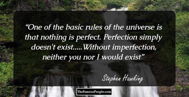 Tôi chẳng sợ cái chết, nhưng tôi cũng không nóng lòng đón nhận nó - Stephen Hawking - ảnh 16