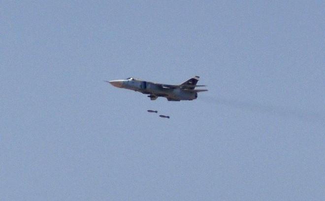 Máy bay Nga kết hợp KQ Syria oanh tạc Đông Ghouta: Giáng đòn sấm sét chưa từng thấy!