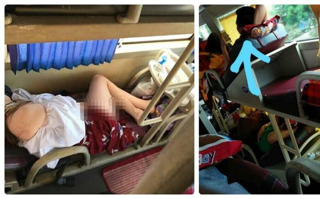 Hớ hênh trên xe khách giường nằm, cô gái khiến bạn đồng hành ngượng ngùng