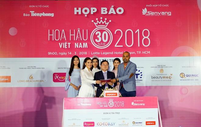 Vietjet là nhà tài trợ vận chuyển chính thức của Hoa hậu Việt Nam 2018 - Ảnh 1.