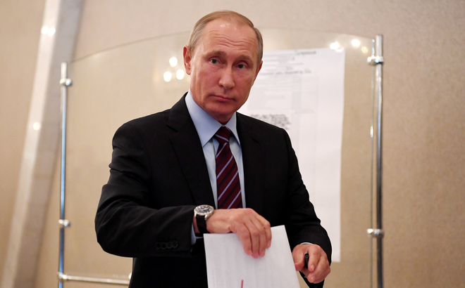 """Nước Nga làm gì trong """"ngày yên lặng"""" trước bầu cử Tổng thống?"""
