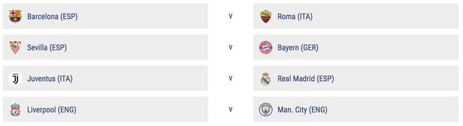 Tứ kết Champions League: Tái hiện chung kết năm ngoái, người Anh phải loại nhau - Ảnh 1.