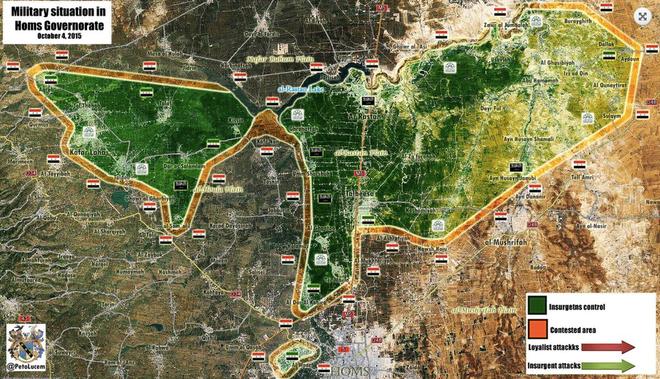 Sau Đông Ghouta vẫn còn một nồi hầm khác để Quân đội Syria triệt hạ - Ảnh 2.