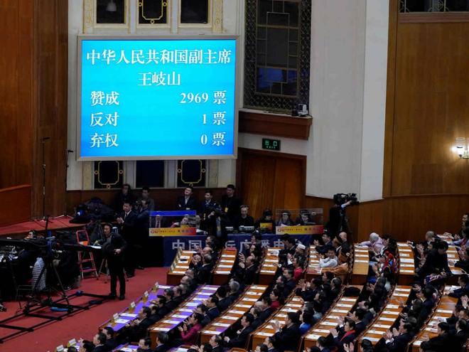 Đại biểu Trung Quốc rơi lệ khi ông Tập Cận Bình tuyên thệ nhậm chức Chủ tịch nước - Ảnh 4.