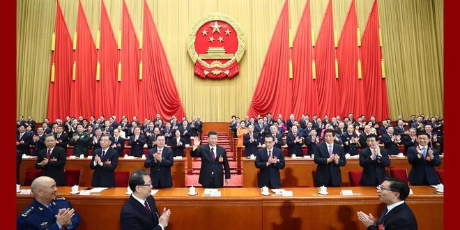 Đại biểu Trung Quốc rơi lệ khi ông Tập Cận Bình tuyên thệ nhậm chức Chủ tịch nước - Ảnh 5.