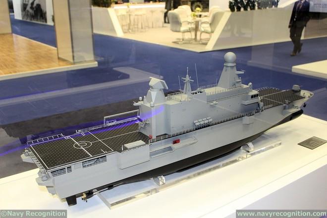 Hết khoe máy bay chiến đấu, tên lửa khủng, Qatar gây bất ngờ với chiến hạm xịn hết cỡ - Ảnh 2.