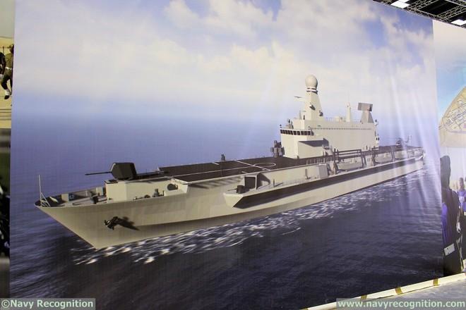 Hết khoe máy bay chiến đấu, tên lửa khủng, Qatar gây bất ngờ với chiến hạm xịn hết cỡ - Ảnh 3.