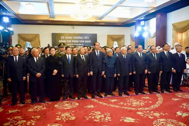 Lễ Quốc tang nguyên thủ tướng Phan Văn Khải.