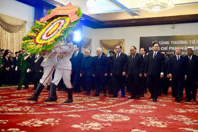 Nghi lễ Quốc tang Nguyên thủ tướng Phan Văn Khải.