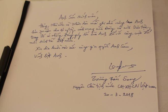 Những lời tiếc thương cố Thủ tướng Phan Văn Khải của lãnh đạo Đảng, Nhà nước trong sổ tang - Ảnh 9.
