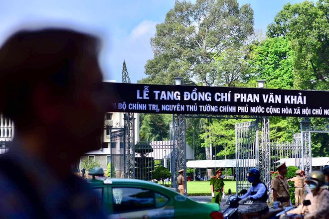 Lễ tang đồng chí Phan Văn Khải.