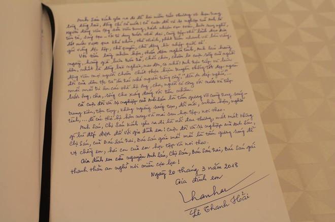 Những lời tiếc thương cố Thủ tướng Phan Văn Khải của lãnh đạo Đảng, Nhà nước trong sổ tang - Ảnh 10.