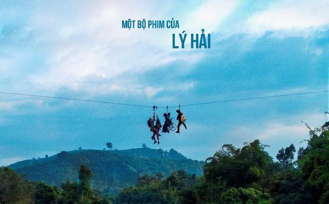 Kiều Minh Tuấn gặp sự cố khi đóng phim, ngồi trên xe lăn treo mình giữa vách núi