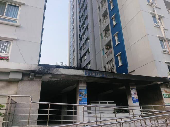Hiện trường vụ cháy chung cư cao cấp khiến 13 người tử vong, 14 bị thương ở Sài Gòn - Ảnh 12.