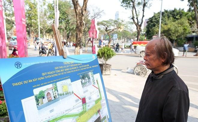 88% người được hỏi đồng ý vị trí đặt ga tàu điện ngầm ở Hồ Gươm